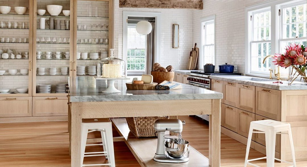 Hamptons Styling for the Kitchen